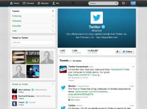 Twitter Business Profile Setup