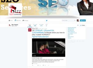 Twitter Business Profile Setup option 2